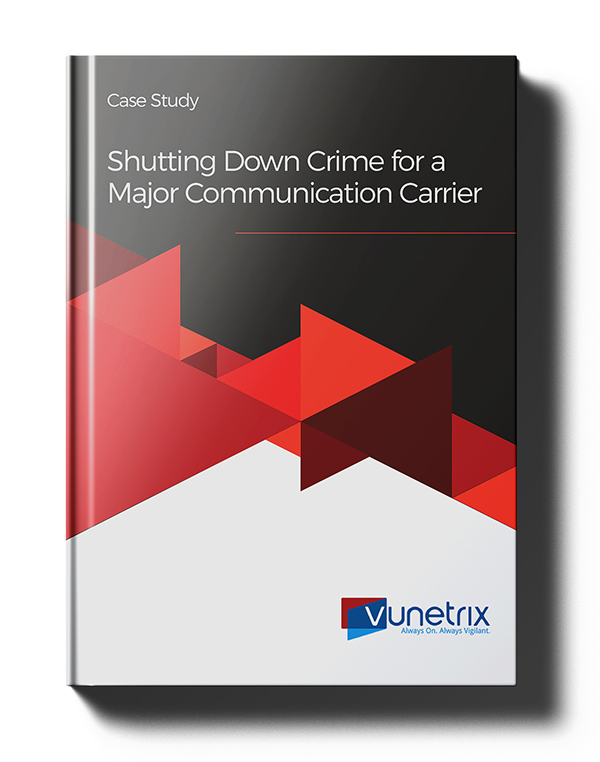Shutting Down Crime for a Major communication carrier